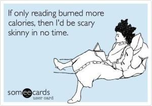 reading alot