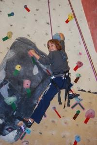 wyatt rock climbing